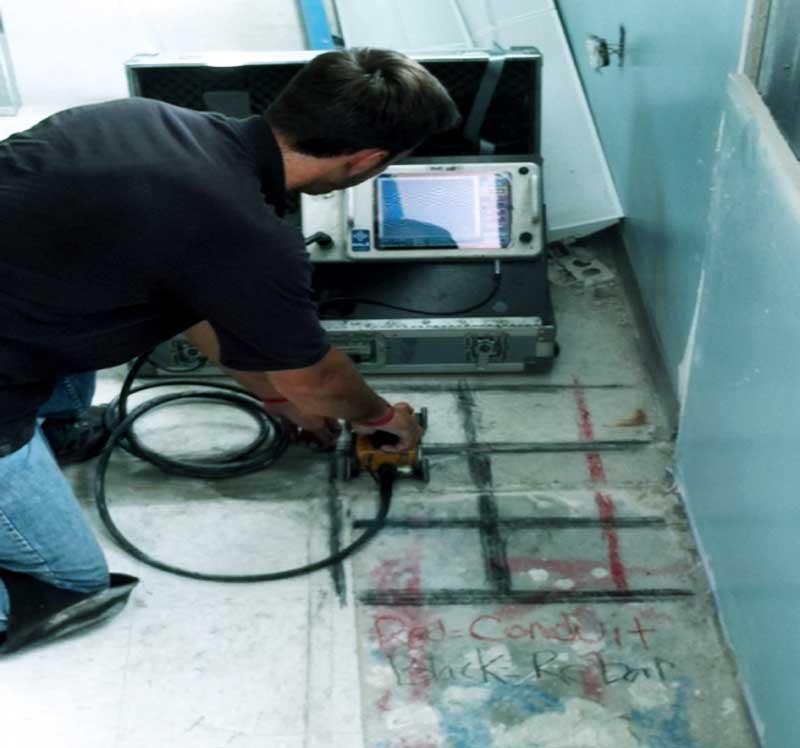 GPR Concrete Scanning - Pro Scan Subsurface Imaging